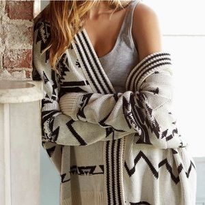 {Ecoté} Urban Outfitters Hooded Knit Cardigan
